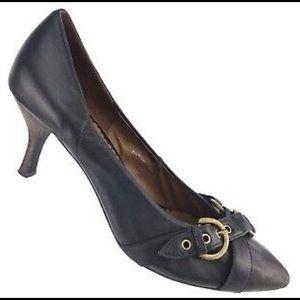 Jeffrey Campbell black Depoe Bay heels size 8.5